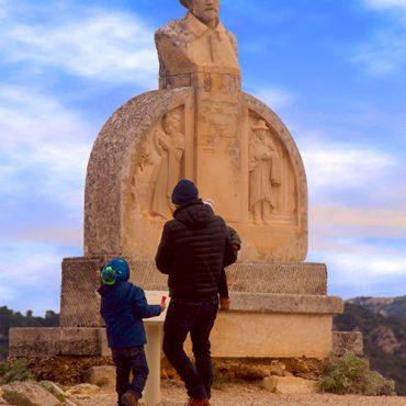 Visita al Baux-de-Provence con niños